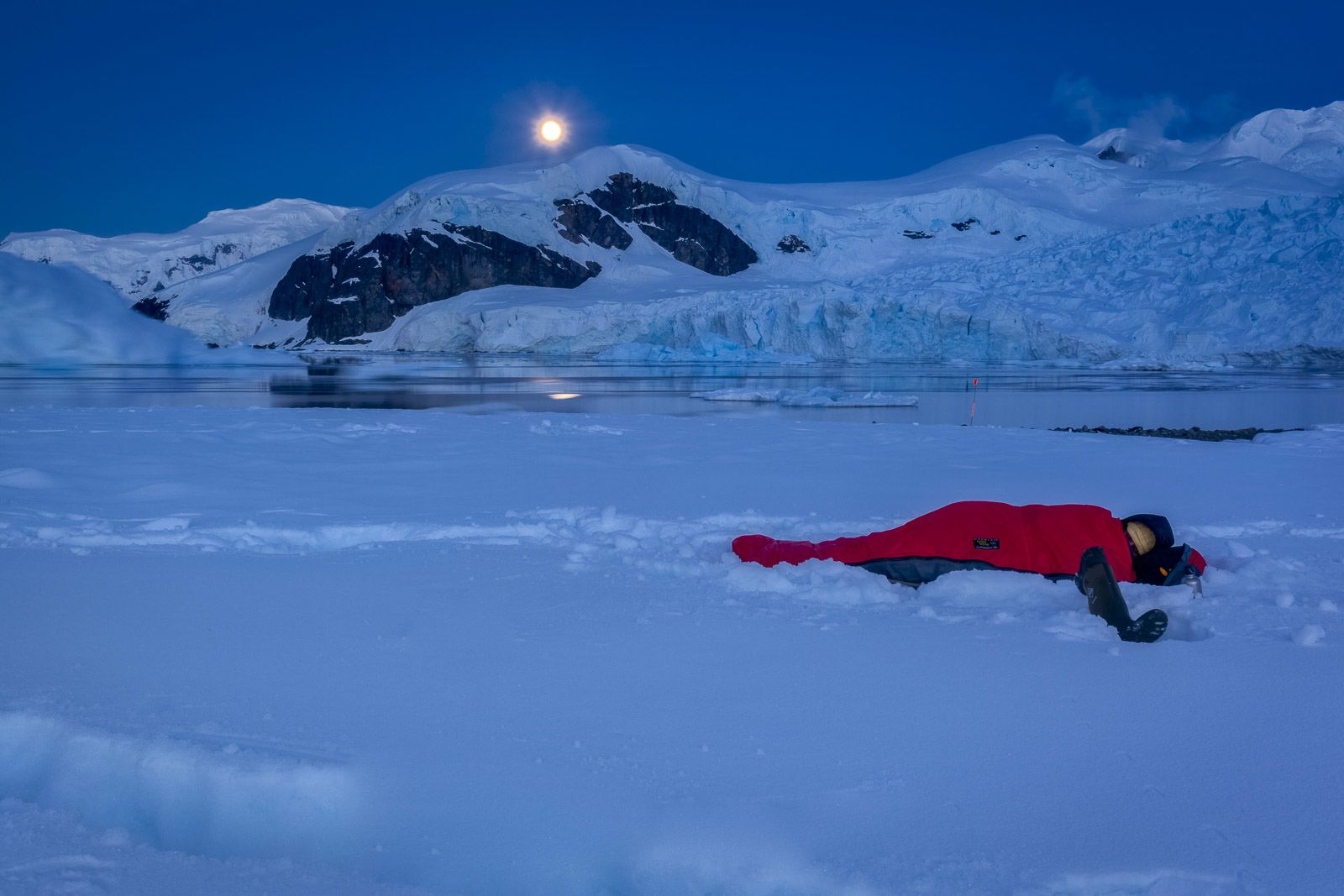 Antarctica can be cold