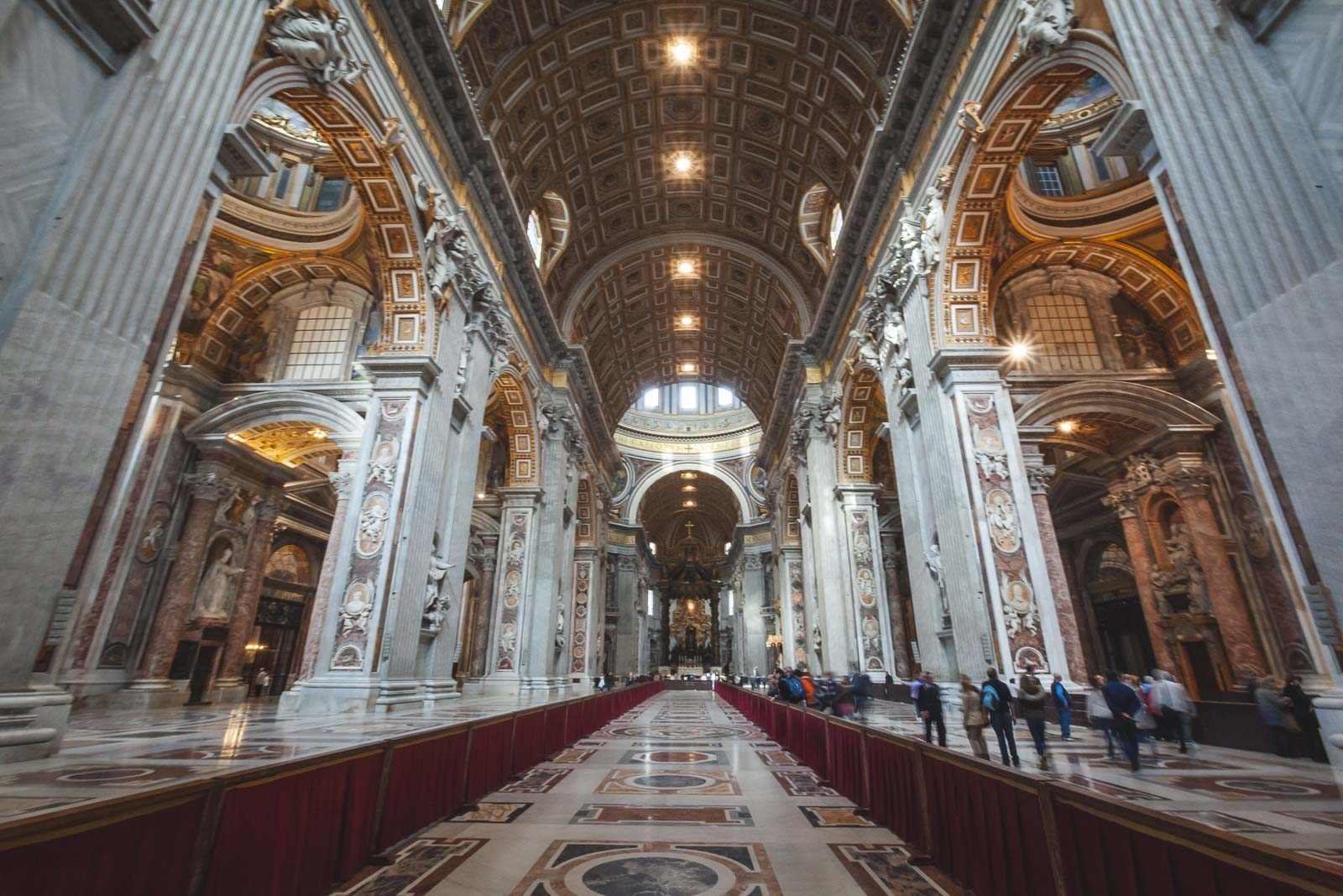 Interestin Rome Fact about St. Peters Basilica