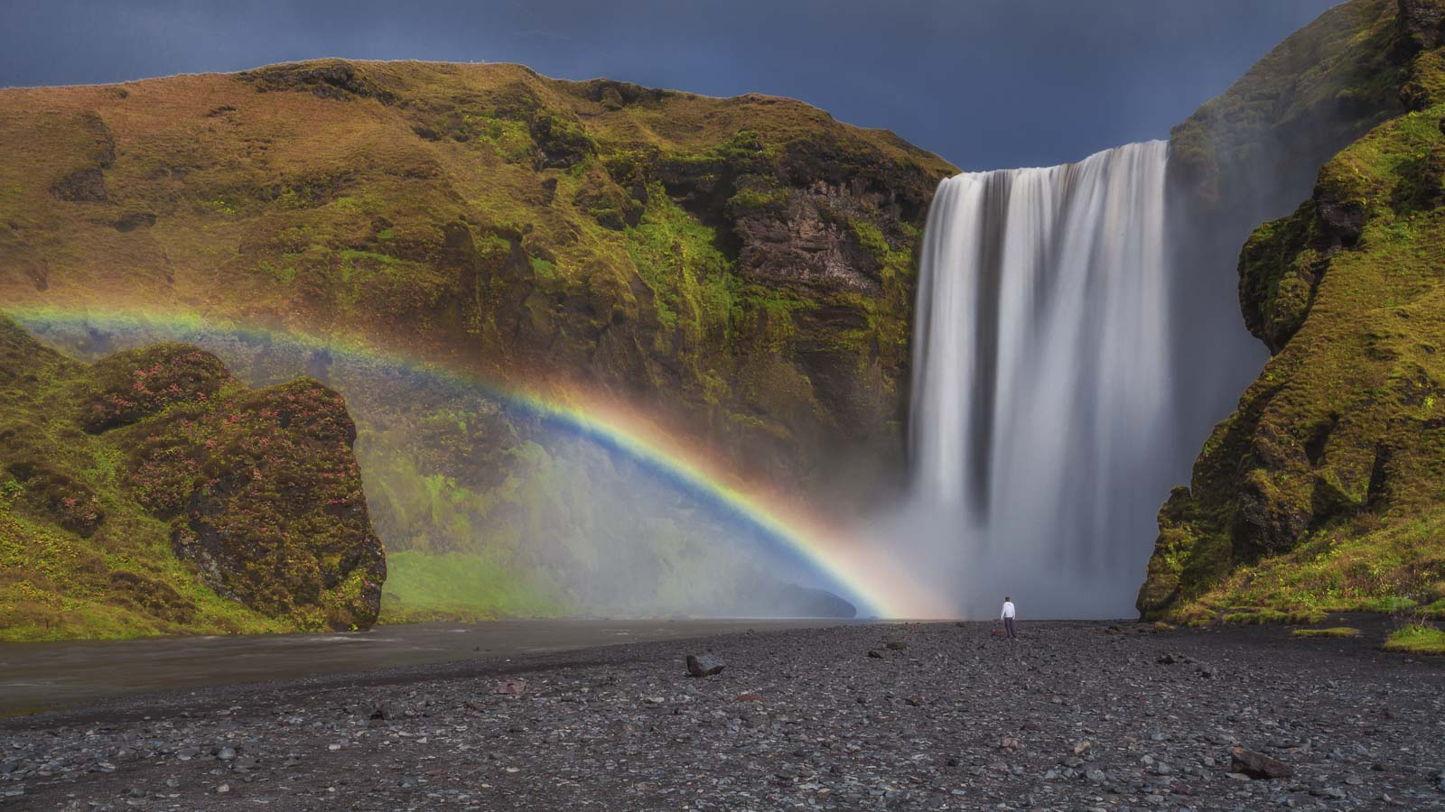 Skogafoss on your Iceland Road Trip