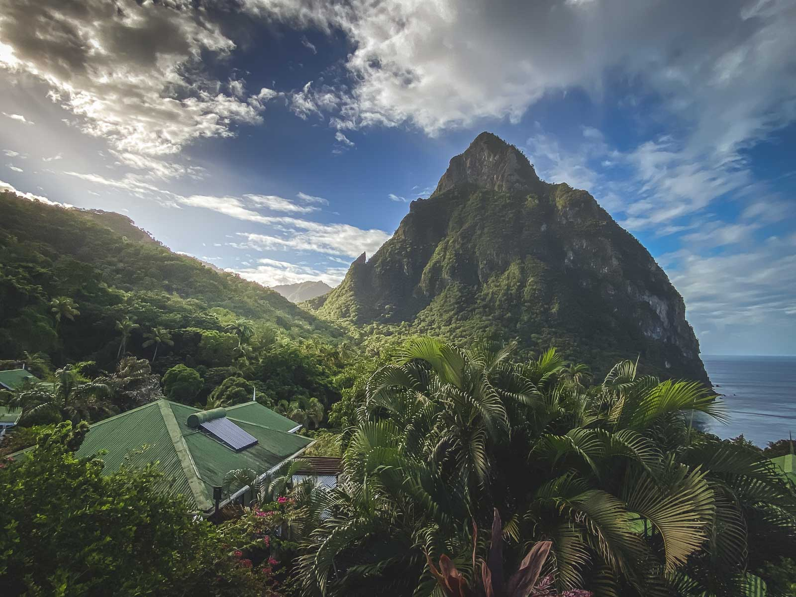 Hiking Gros Piton in St. Lucia