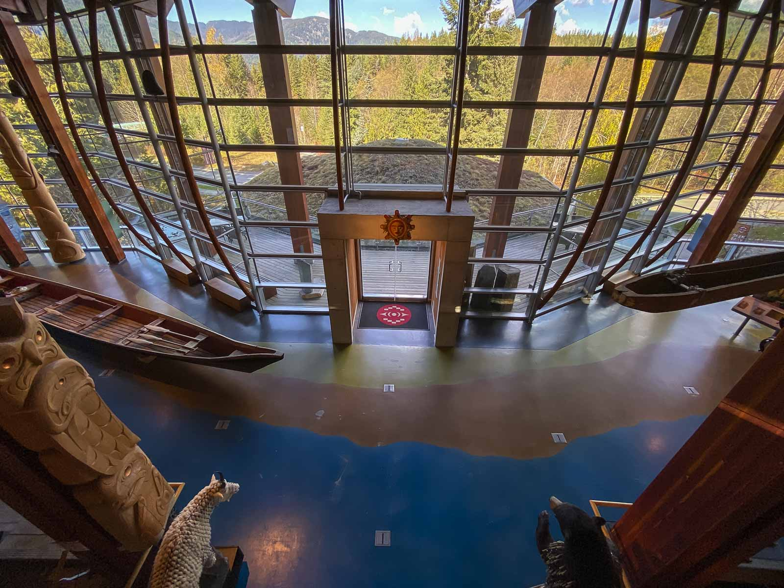 Squamish Lilwat Cultural Centre in Whistler