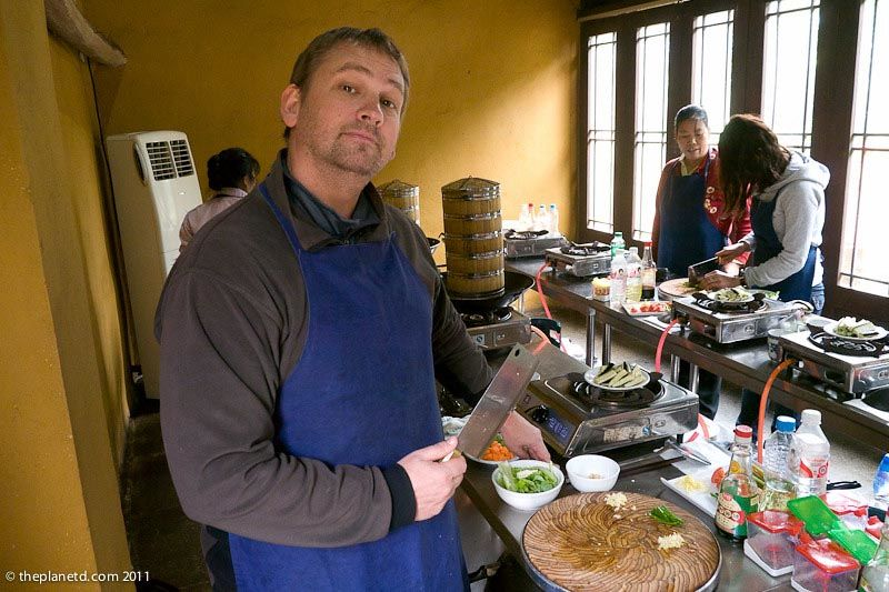 meaning of travel cooking classes