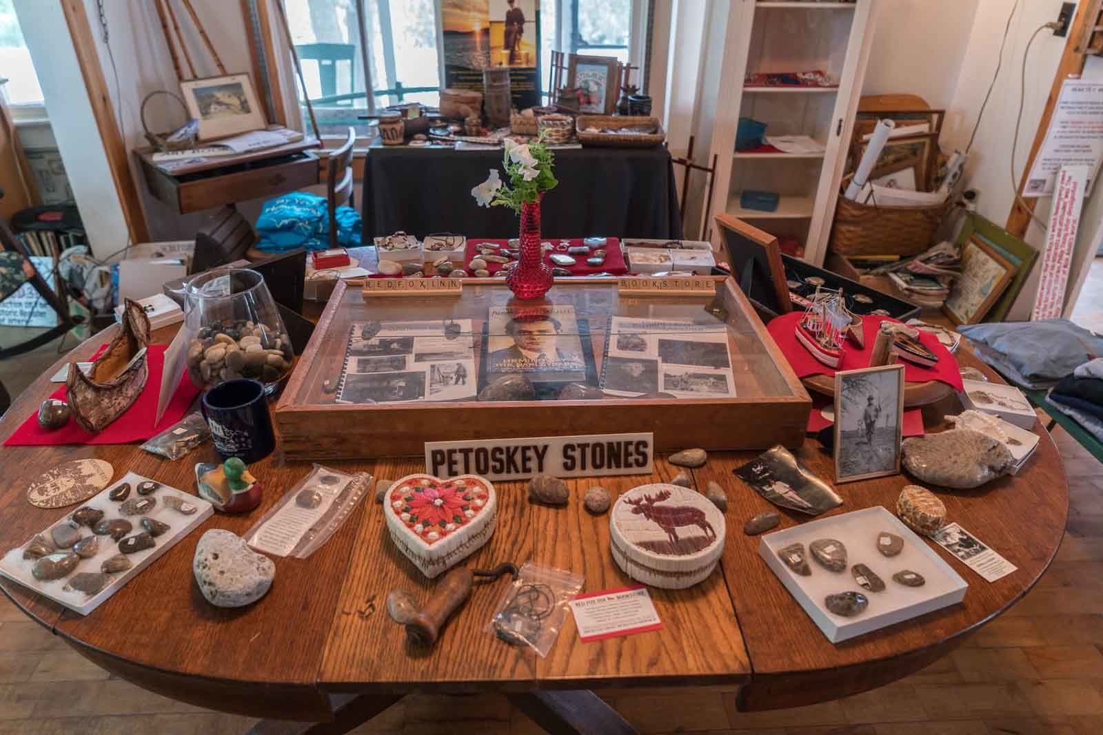 petosky shop for stone and hemingway