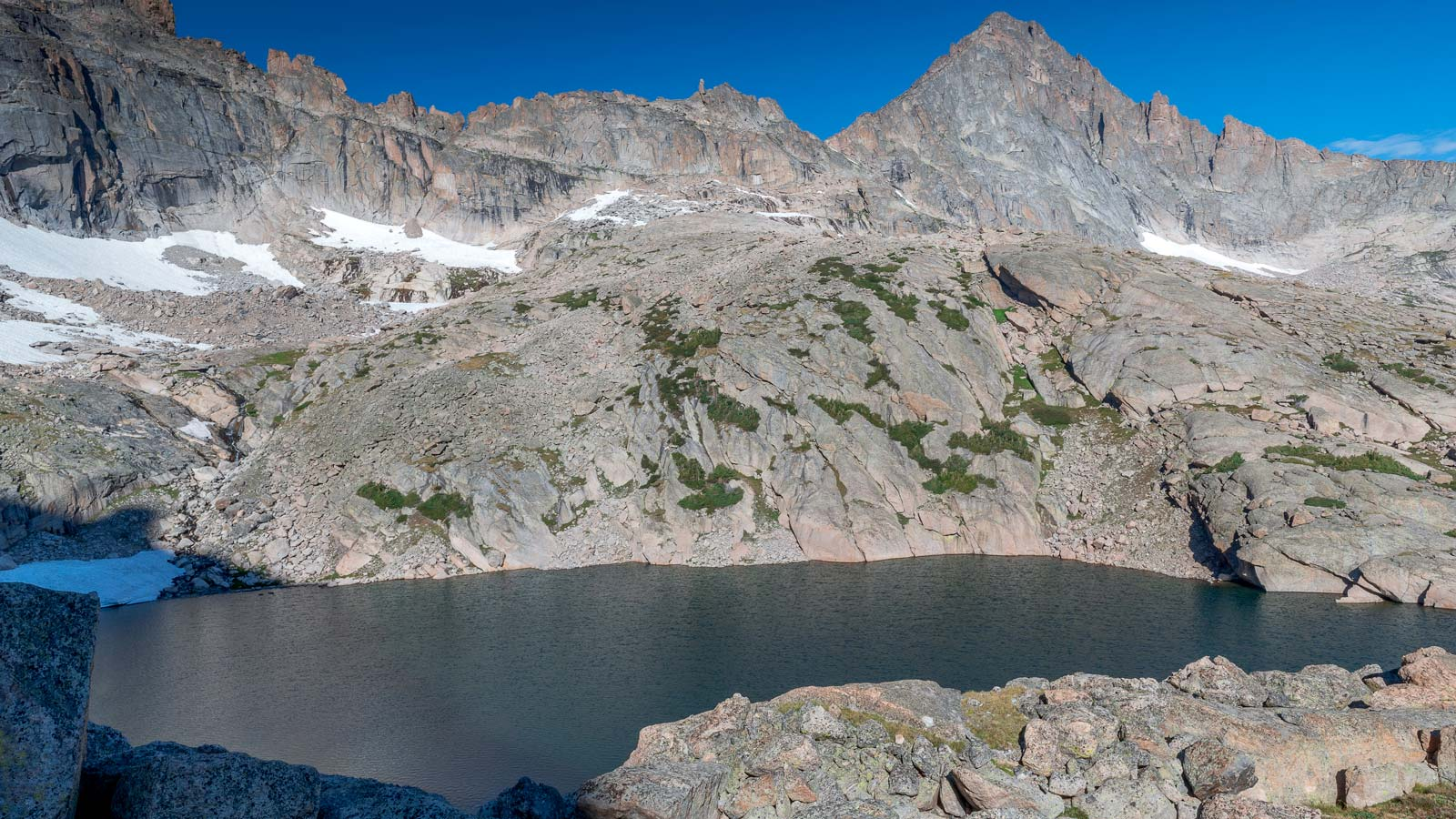 Hikes in Colorado Chasm Lake