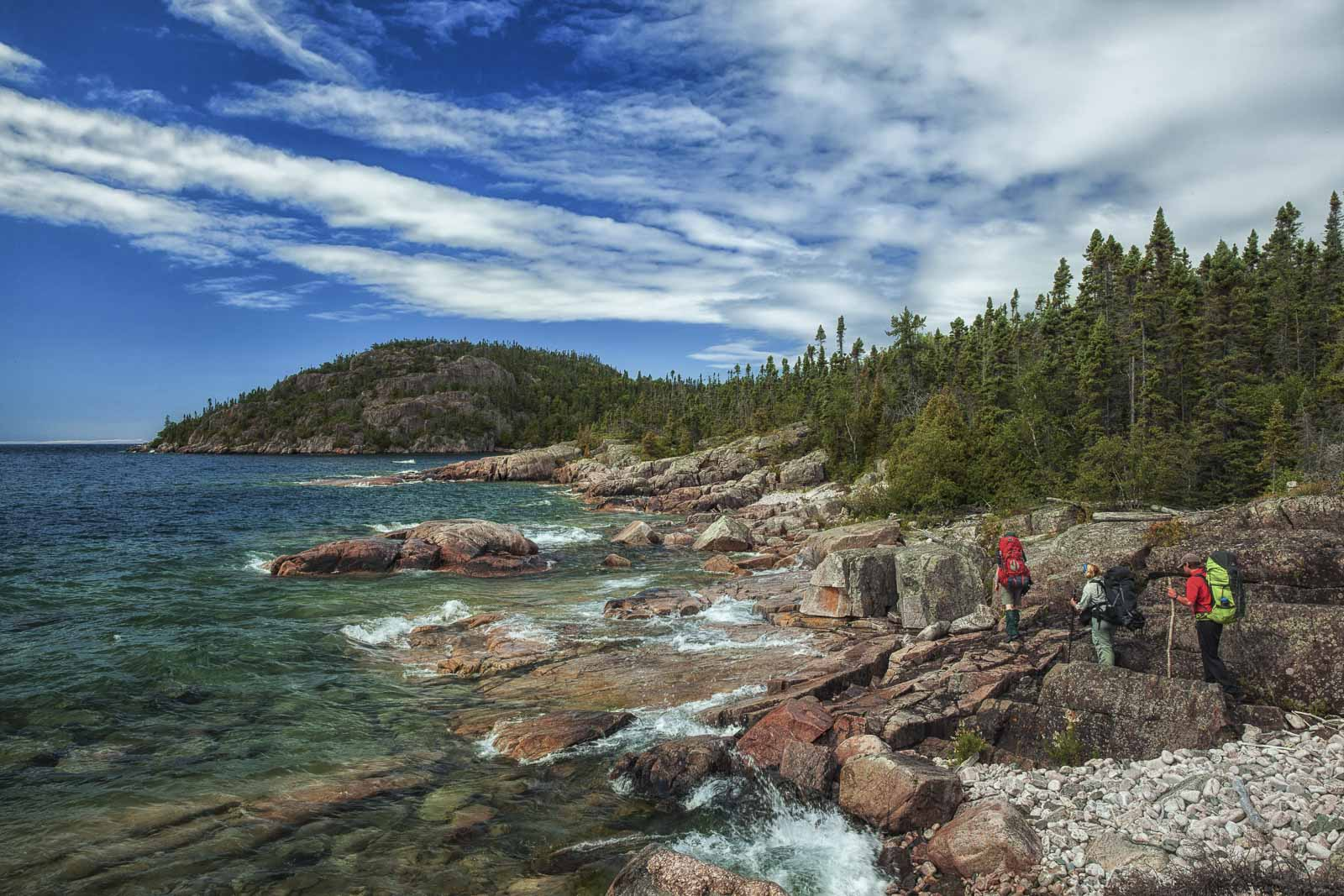Hiking the Pukaskwa Trail in Ontario