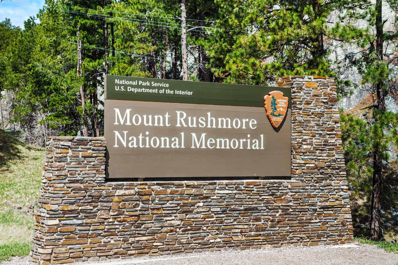 Guided tours at Mount Rushmore
